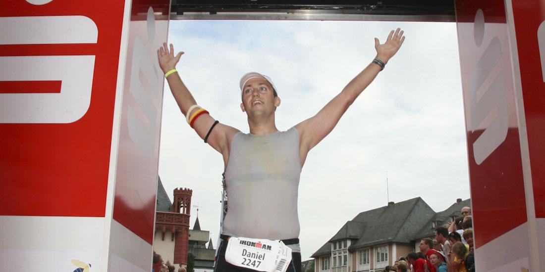 Daniel Rüd - IRONMAN Frankfurt Finish 2008