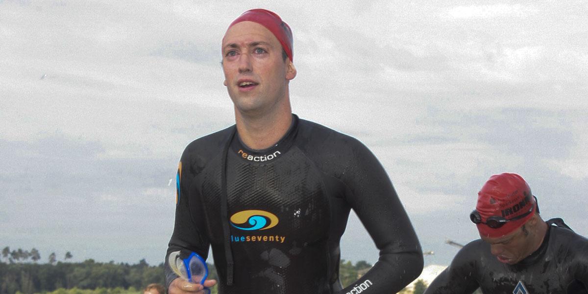 Daniel Rüd - Ironman Schwimmen 2008