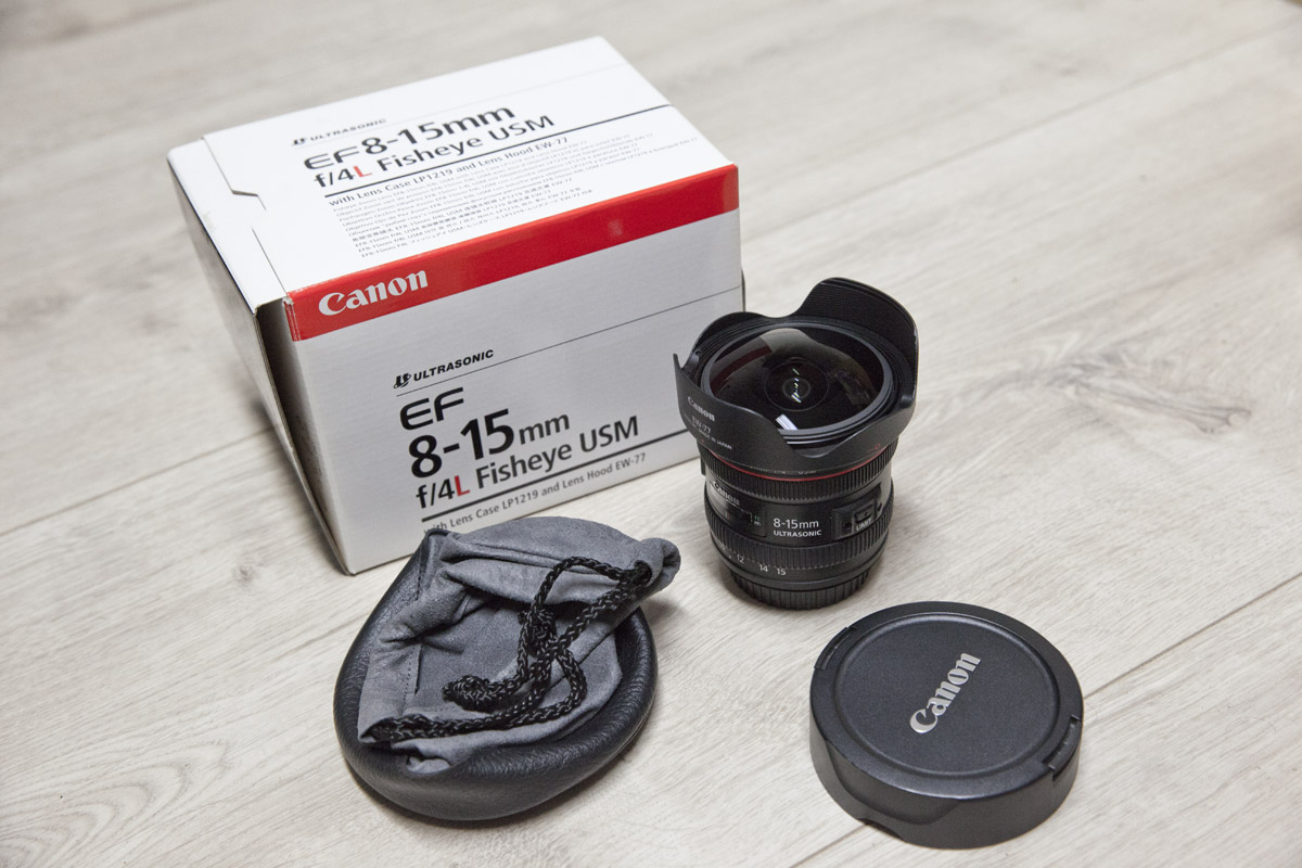 Canon EF 8-15mm Fisheye