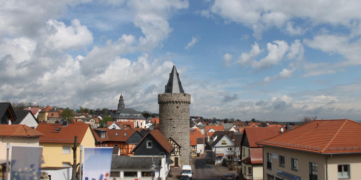 Rathaus-Webcam in Wölfersheim