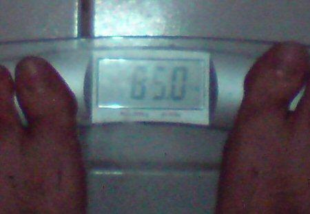 85 Kilogramm
