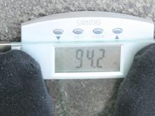 Mein Gewicht: 94,2kg