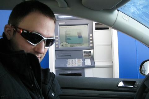 Geldautomat für Autos