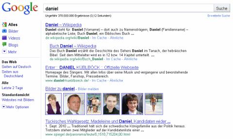 "Google ""Daniel"""