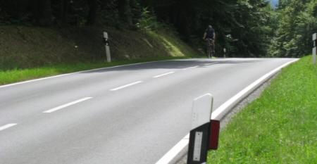 Anstieg zwischen Eschbach und Michelbach