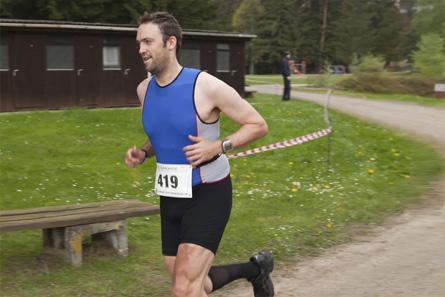 Daniel beim Laufen