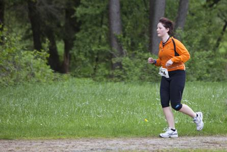 Katharina beim Laufen