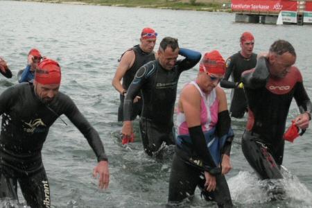 Schwimmausstieg