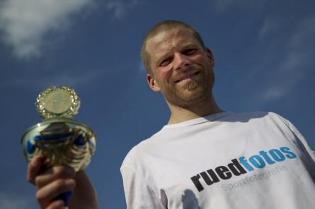 Sieger des 5km-Laufs: Henrik Apel