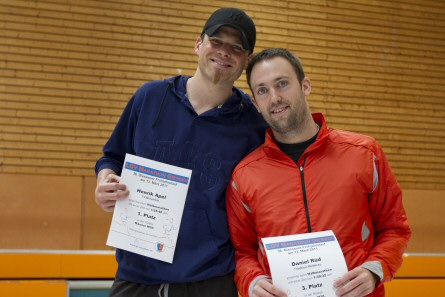 Henrik und Daniel bei der Siegerehrung