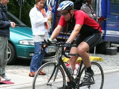Daniel Rüd beim Triathlon - Rad fahren